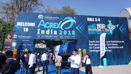 2019年印度国际制冷、空调及通风设备展ACREX
